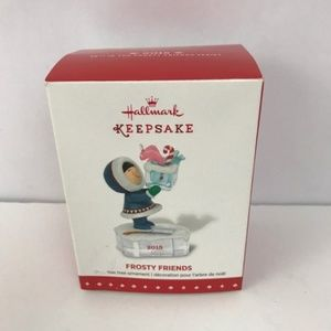 Hallmark frosty friends 2015 Ornament